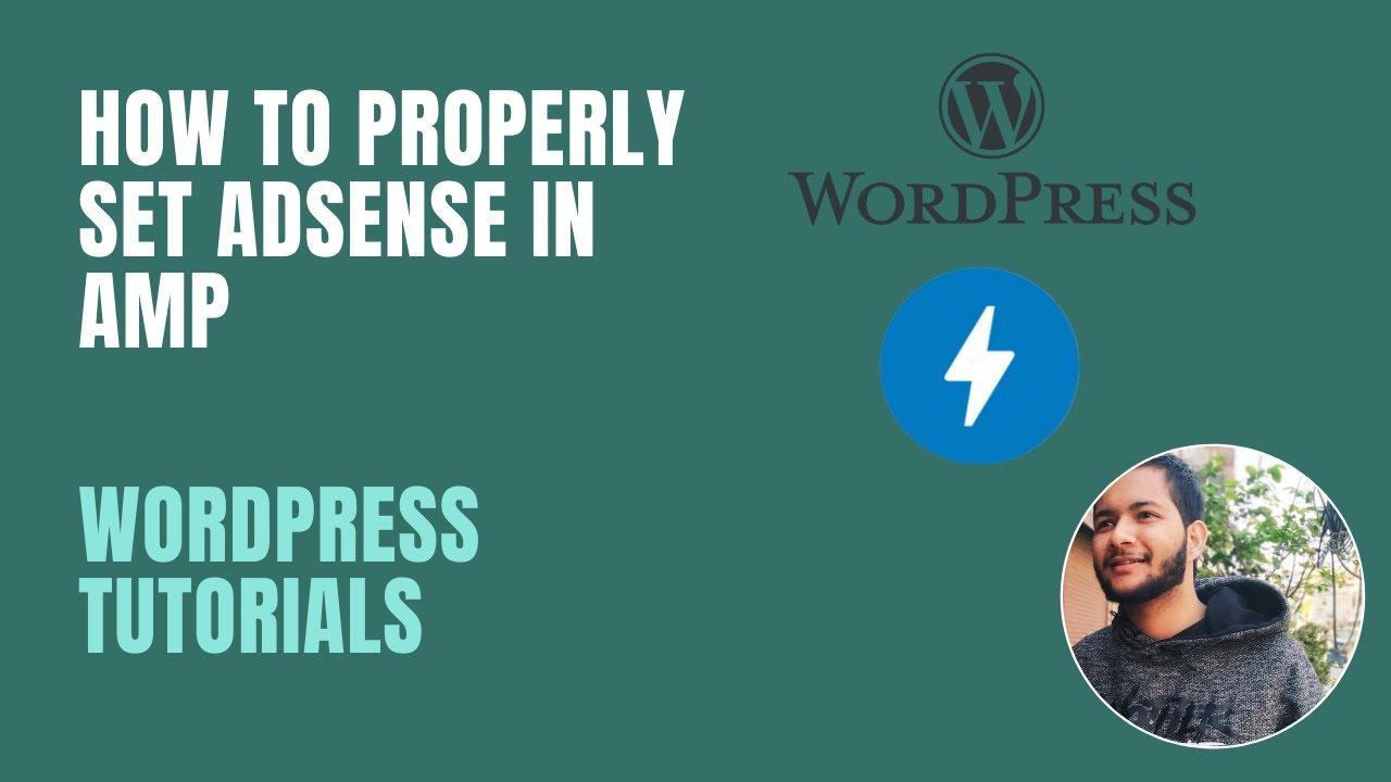 set adsense ads in amp for wordpress